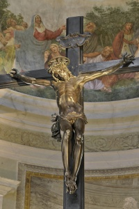 Crocefisso Bronzeo del Duomo di Pietrasanta