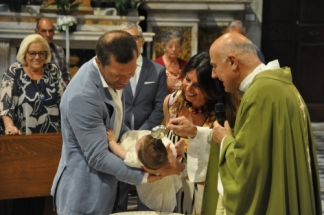 battesimo-greta duomo di Pietrasanta