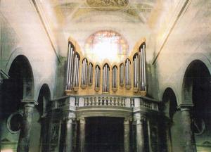 Fotomontaggio del nuovo Organo