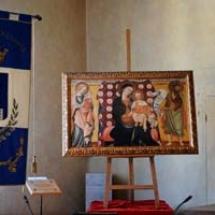quadro Madonna del Sole