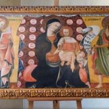 quadro con riproduzione della Madonna del Sole