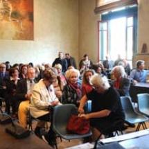 pubblico presente alla conferenza Stampa
