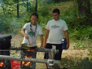 Cucina da campo