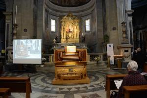 EMA 0894 organo- altare